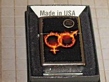 ZIPPO Lighter USA Man Woman Fire Holy Spirit Church Hebrew Religon Flame Christ