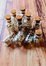 Fine Silver Casting Grain. 999 Pure Silver Shot In glass bottle