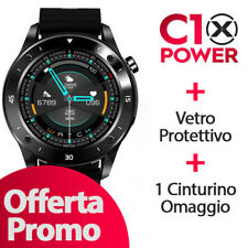 Smartwatch C10 XPOWER + Cinturino omaggio + Vetro protettivo OFFERTA PROMO