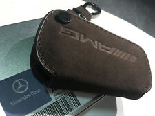 Genuine Style Leather Key Cover Case Holder For Mercedes Benz CLA GLA A E C AMG