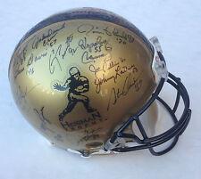 Heisman Trophy Winners signed FS ProLine helmet 28 auto Barry Sanders Steiner LE