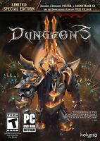 Dungeons II Limited Special Edition PC Games Windows 10 8 7 XP Computer NEW 2