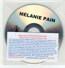 (ET62) Mélanie Pain, Black Widow - DJ CD