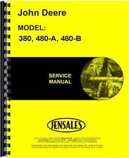 John Deere 380 480-A 480-B Forklift Service Manual JD-S-TM1060