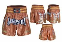 Maxx Muay Thai Fight Shorts MMA Kick Boxing Grappling Martial Arts Gear Men GB