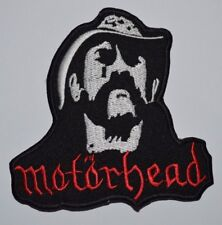 MOTORHEAD LEMMY Iron On Sew On Embroidered Patch Rock Band Biker Jacket Sports