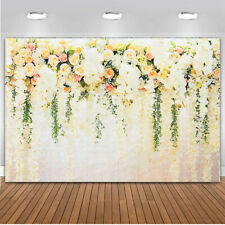 Flower Painted Wall Backdrop Photography Background Wedding Party Supply 5X7Ft