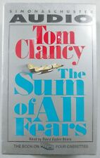 The Sum of All Fears: Tom Clancy - 4 Cassette Audiobook - Stiers