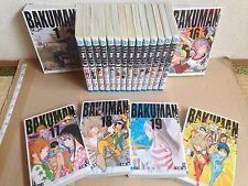 Bakuman 1-20 manga Complete Set Tsugumi Ohba Japanese comic Takeshi Obata Jamp