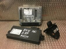 BMW 116i engine ECU set kit 1 Series E87 N45B16A manual petrol 7568678