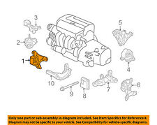 Honda Oem 03 10 Element Engine Motor Mount Front 50840scva01 Fits