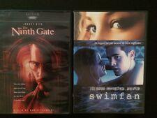Lot of 2 DVDs * The Ninth Gate + Swimfan * Suspense Night