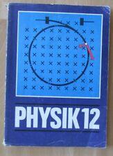 DDR Lehrbuch Physik 12 Zusammenfassung Aufgaben Lösung-Weg Abitur Studium Beruf