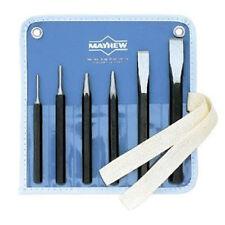 Mayhew Tools 61005 Conjunto de punzón y cincel, 6 Piezas