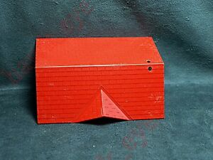 Plasticville Bungakow Red Roof HTF O-Scale
