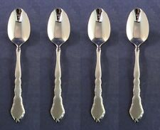 SET OF FOUR - Oneida Stainless SATINIQUE Teaspoons NEW