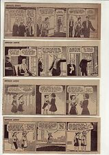 Little Orphan Annie by Harold Gray - 27 daily comic strips - Complete Jan. 1957