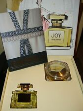 Jean Patou Gift Package NEW  75mi e 2.5 oz with Baccarat Crystal Bodycream