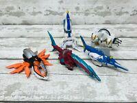 Bandai Power Rangers Super Samurai Zord Action Figures Bundle Swordfish, Shark