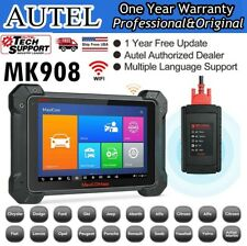 Autel MaxiCOM MK908 Automotive Scanner Tool OBD2 Car Code Reader ECU Coding TPMS