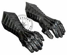 Medieval Knight Gauntlets Gothic Gauntlet Gloves 18G Steel Halloween Gift