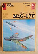 60-1593 HOBBYCRAFT 1/48 Scale MIKOYAN-GUREVICH MiG 17F FRESCO Plastic Model Kit