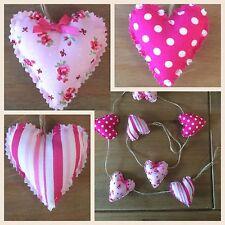 Handmade Shabby Chic Amore Cuore Garland Bunting
