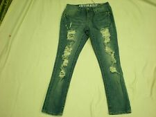 Women Hydraulic -sammie boyfriens -  Destroyed Jeans  Siza 1/2 NWT