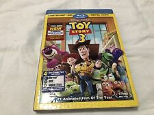 Toy Story 3 (Blu-ray/DVD, 2010, 4-Disc Set, Includes Digital Copy) New Sealed
