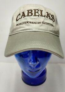Cabela's hat adjustable embroidered
