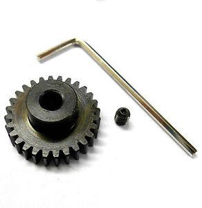 M0.8 Mod Module 0.8 0.8M 28T 28 Teeth Tooth Motor Pinion Gear 1/10 540 3.17mm