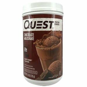 2 Pack Quest Nutrition Chocolate Milkshake Protein Powder 2 Lbs Each
