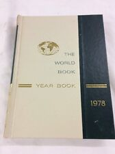 World Book Encyclopedia 1978 Yearbook - Review of Events in 1977 Birthday Gift