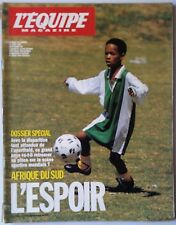 b)L'Equipe Magazine 13/04/1991; Dossier Spécial Afrique du Sud/ Foreman/ Thobela