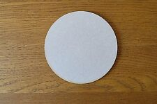 4 x Wooden MDF 12cm diameter circles blank craft shapes ideal for coasters