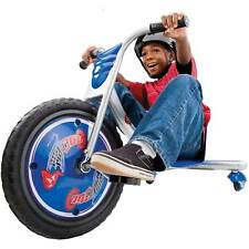 NEW Razor Rip-Rider 360 Drifting Ride-On Tricycle Bike Trike Kid's Ride On Blue