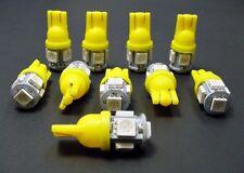 Ford Yellow Amber MEGA BRIGHT 5 LED 12v Instrument Panel SMD Light Bulb NOS