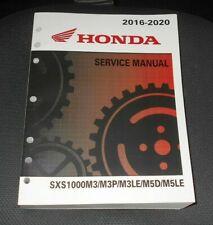HONDA PIONEER 1000,SXS1000 REPAIR,SHOP,SERVICE MANUAL, BOOK 61HL404, 2016-2020