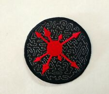 CHAOS Magic Patch Embroidered Iron/sew QUALITY Occult Symbol Wiccan Pagan Witch