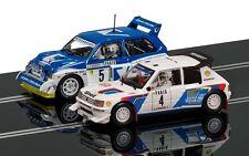 Scalextric 1/32 Peugeot 205 T16 E2 & MG Metro 6R4 Slot Car Set C3590A SCAC3590A