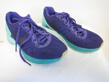 VGC Nike Lunarglide 6 Lunarlon HYPER GRAPE Purple Blue 654434-500 Size 7