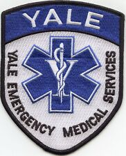 YALE UNIVERSITY EMERGENCY MEDICAL SERVICES CONNECTICUT CT EMS fire PATCH