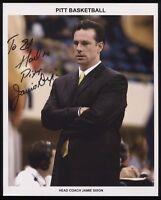 Jamie Dixon Signed 8x10 Photo College NCAA Basketball Coach Autographed