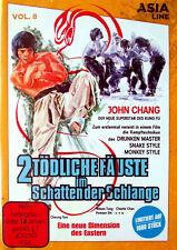 2 Tödliche Fäuste im Schatten der Schlange (1979, Asia Line, DVD)