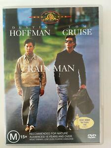 Rain Man DVD Tom Cruise and Dustin Hoffman American Classic VGC Rated M15+