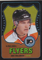 10-11 OPC Eric Wellwood /100 Rookie Retro Black Rainbow O-Pee-Chee 2010 Flyers