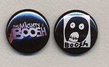 MIGHTY BOOSH Pair of badges - COOL !