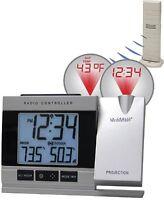WT-5220U-IT La Crosse Technology Projection Alarm Clock Temperature TX37U-IT NIB