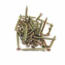 120 pcs Screws for Timber Wood Plastic Board Furniture Chair Sofa Couch 16-60mm