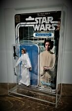 ACRYLIC DISPLAY CASE a STAR WARS CARDED 40 TH ANNIVERSARY  UV PROTECTION